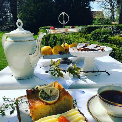 Gutshaus Volzrade Unser kleines Café Tea Time