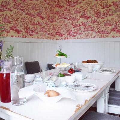 Gutshaus Volzrade Café Sitzecke