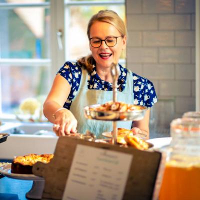 Gutshaus Volzrade Unser kleines Café Elisabeth Neufeld-Picciani