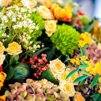 Gutshaus Volzrade Blumen Unser kleines Café